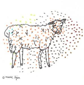 Marie Tijou - papier confetti