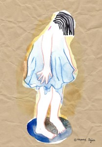 Marie Tijou - papier kraft
