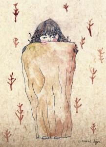 Marie Tijou - papier bouffant